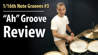 1/16th note groove review, 1/16th notes, 1/16th note grooves, 1/16th note groove patterns, easy grooves, beginner grooves, beginner beats, easy drum lesson, beginner drum lessons, 1/16th note rhythms, 1/16th note snare,