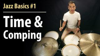 jazz drumming basics, jazz basics, basic jazz, jazz drums, jazz lessons, jazz drums lesson, online drum lessons, easy jazz lesson, easy jazz drums, beginner jazz, beginner jazz drum lesson