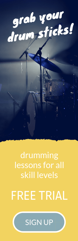online drum lessons for beginners from Simpledrummer