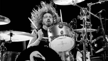 Dave Grohl, Nirvana, Foo Fighters, Them Crooked Vultures, drum lessons, online drum lessons, drum blog