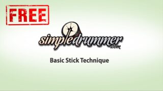 basic stick technique, first drum lesson, easy drum lessons, drumsticks, beginner drum lesson, drums for beginners, beginner stick control, stick grip
