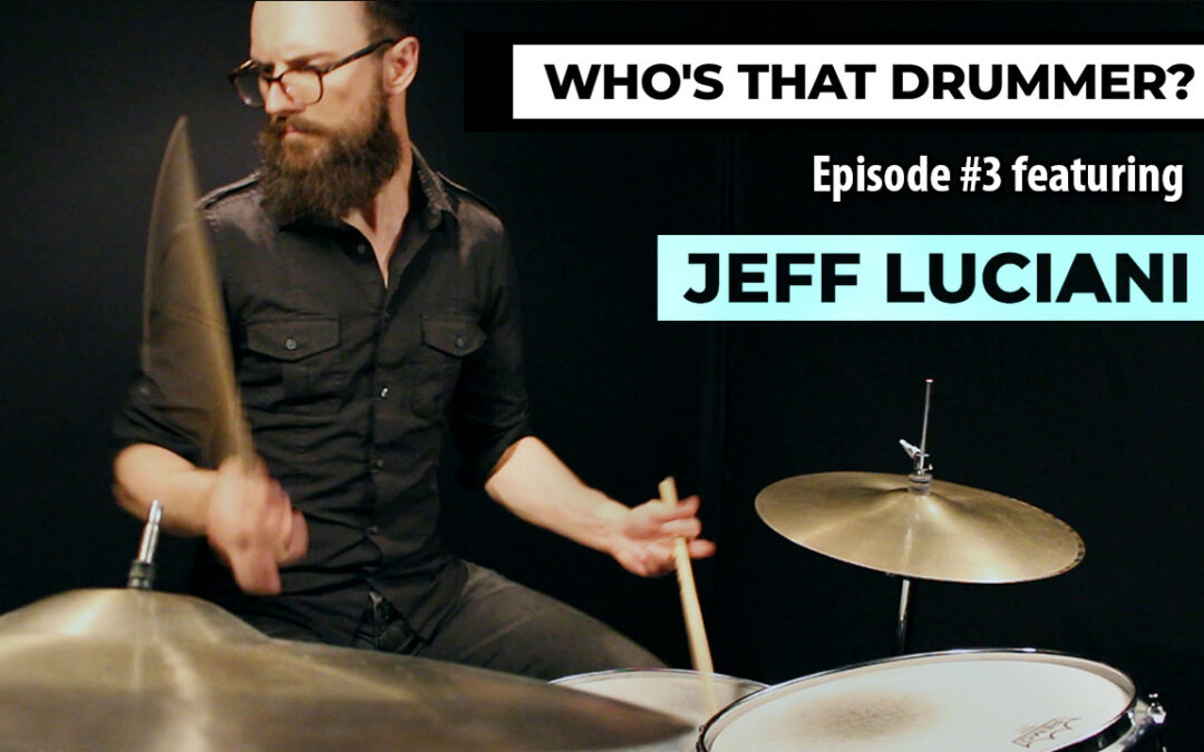 Who's That Drummer? | Episode 3 | Jeff Luciani (The Dears)